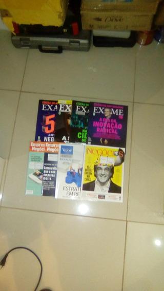 Revista Exame,valor,pequenas Empresas Grandes Negócios 8 Vol