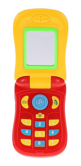 Coolplay Flip Music Phone Toy Con Luz De Espejo
