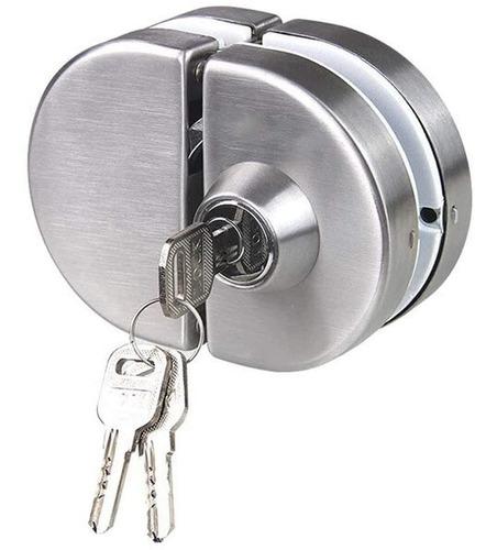 Cerradura Para Puerta De Vidrio (no Requiere Perforación)