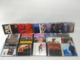 Combo 25 Cds Diversos Músicas Rock, Pop, Clássica
