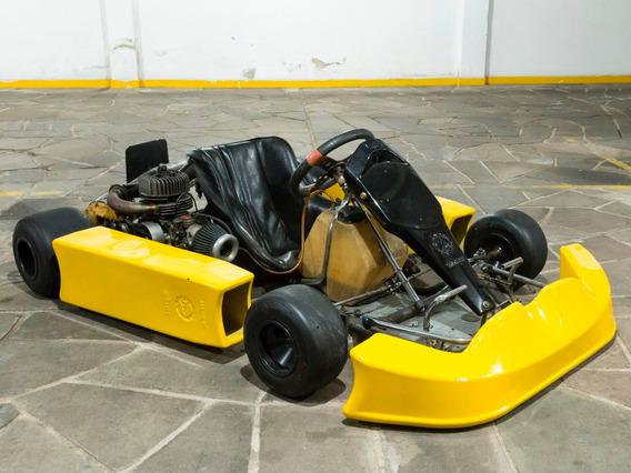 Kart Mini Motor Riomar V4 125cc-troco Por Caiaque/bicicleta