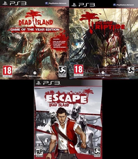 Dead Island Trilogy + Full Dlc ~ Ps3 Digital Español