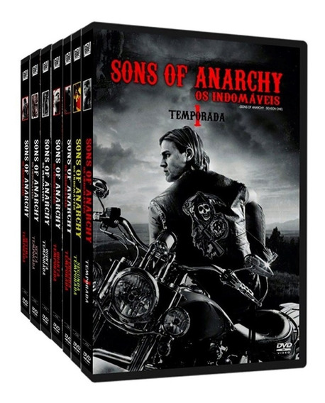 Dvd Sons Of Anarchy As 7 Temporadas Completas E Lacradas