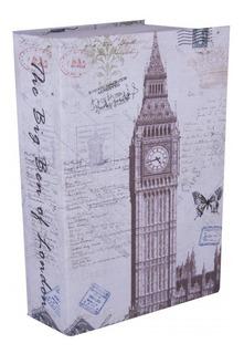 Caja Fuerte Libro Big Ben Seguridad 7 Pulgadas Silverline