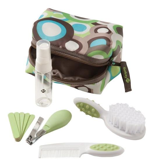 Kit Completo De Higiene E Beleza Verde 10 Pçs Safety S257ih