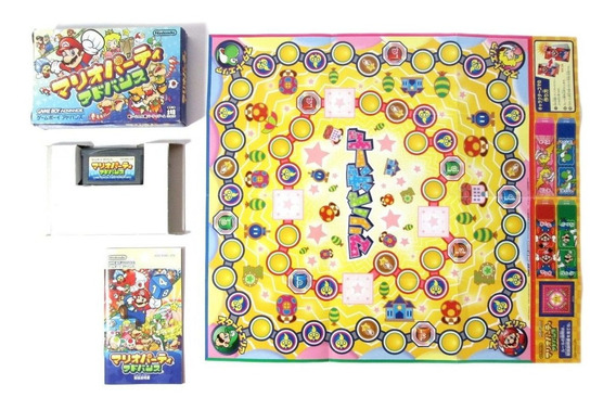 Mario Party Advance Original Para Nintendo Game Boy Advance