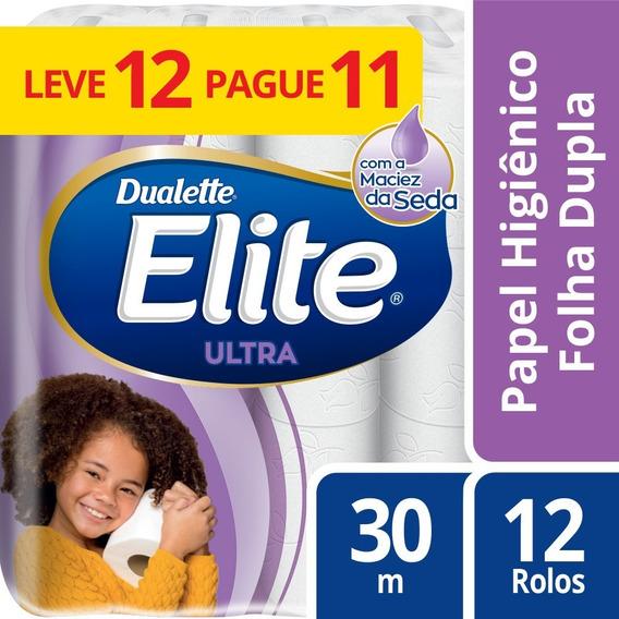 Papel Higiênico Fd Elite Ultra 12 Unidades