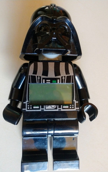 Reloj Despertador Darth Vader Lego Digital!! Seminuevo!!