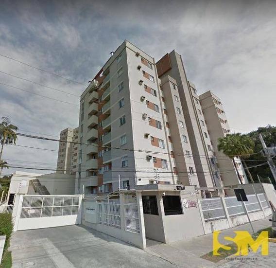 Apartamento Com 2 Dormitórios Para Alugar, 51 M² Por R$ 890,00/mês - Anita Garibaldi - Joinville/sc - Ap0009