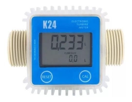 Medidor De Fluxo Vazão Diesel / Água/ Produtos Químicos K24