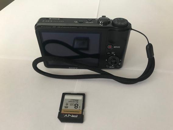 Câmera Sony Dsc-hx5 - Caixa Original, 2 Baterias + Case