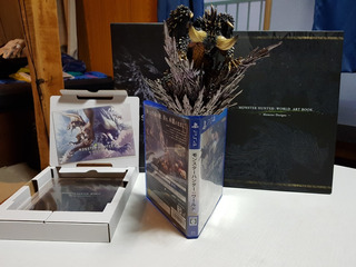 Monster Hunter World Collector Edition Ps4 (jap)