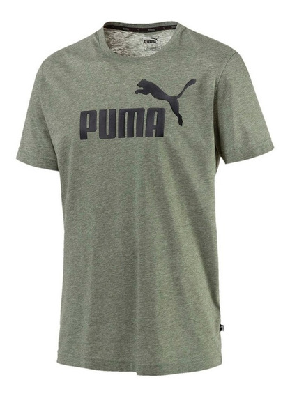 Remera Puma Essentials Heather 852419 23 Hombre