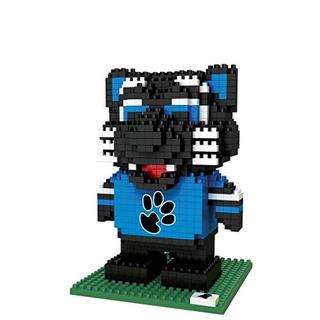 Foco Carolina Panthers 3d Brxlz Puzzle Blocks - Mascota -