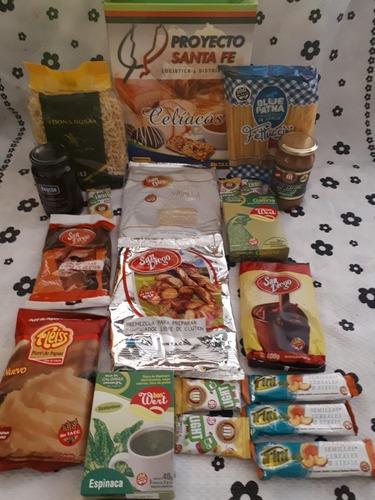 Kit Apto Para Celiacos - 15 Variados Productos.