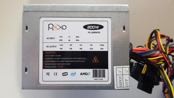 Fonte Atx Pixo Mod Pe-200rnf00 200w Usada Testada Ref: M106