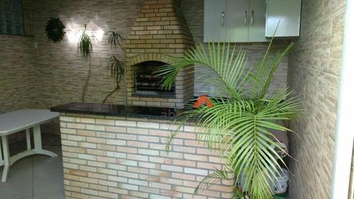 Sobrado Com 3 Dormitórios À Venda, 130 M² Por R$ 640.000,00 - Parque Monte Alegre - Taboão Da Serra/sp - So0246