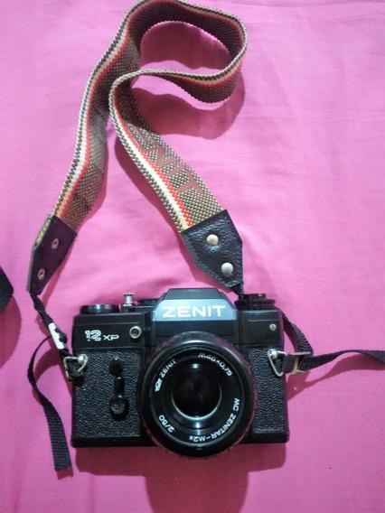 Câmera Fotográfica Analógica Zenit 12xp Funcionando