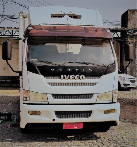 Caminhão 3/4 Baú Refrigerado - Iveco Vertis 90v16.