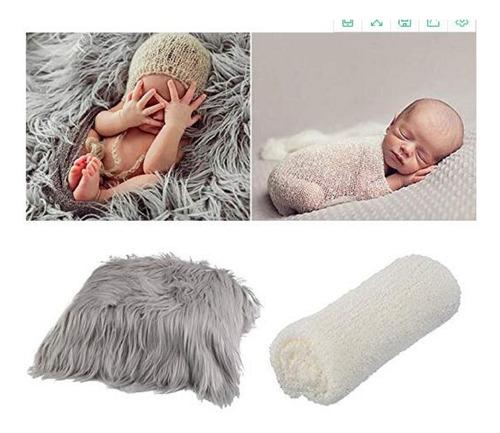 Imagen 1 de 6 de Fondo Para Fotografía De Bebé Recién Nacido, Suave Piel En B