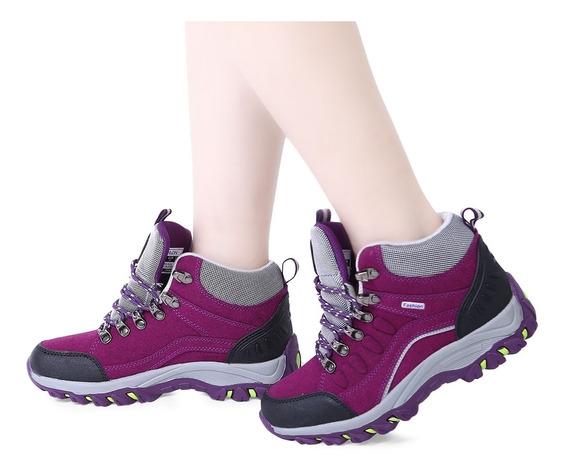 Bloco De Cor Do Laço De Senhoras Tênis Para Caminhada