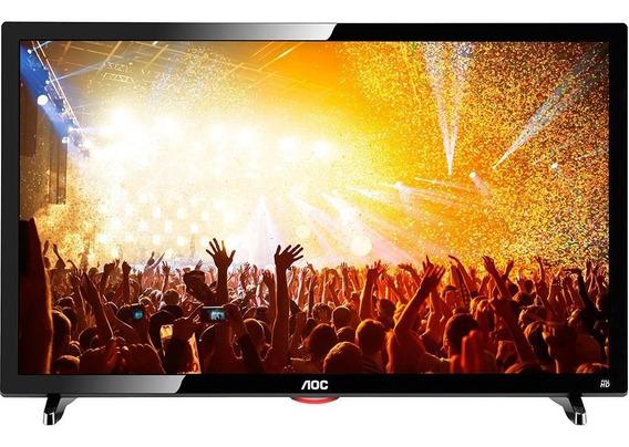 Tv Led 24 Aoc Full Hd Com Convr Digital 2 Hdmi Seminova