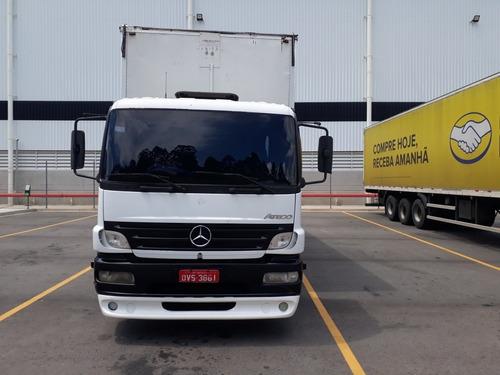 Caminhão Toco Baú Mercedes