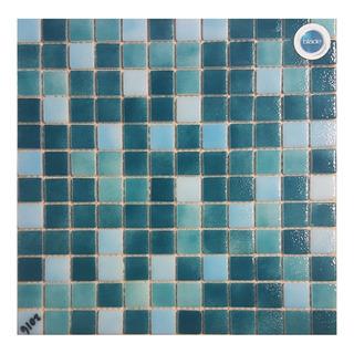 Venecita Mix 2 Verdes Y Celeste Calidad Premium 2,5x2,5 X M2