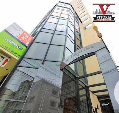 Apartamento Com 1 Dormitório Com 01 Vaga De Garagem À Venda - Centro - Curitiba/pr Perto Shopping Estação, Senac, Terminal Guadalupe - Ap1327