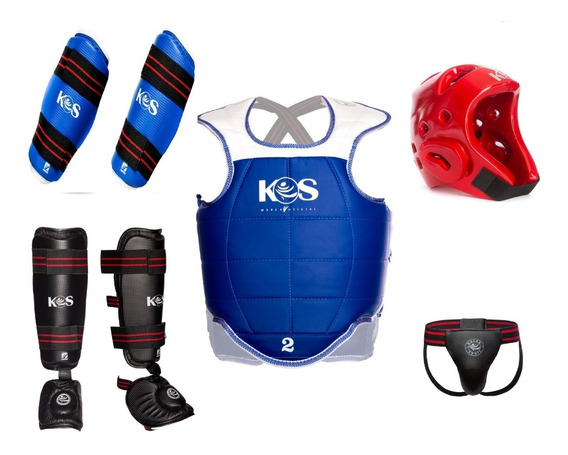 Korea Sport Equipo Taekwondo Paquete #4