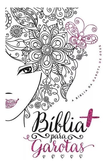 Bíblia Mais Para Garotas Ntlh - Capa Glitter Luxo