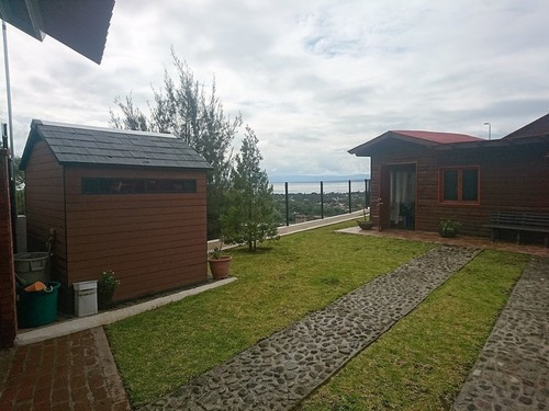 Log Cabin, Privileged View To Lake And Village Of Chapala
