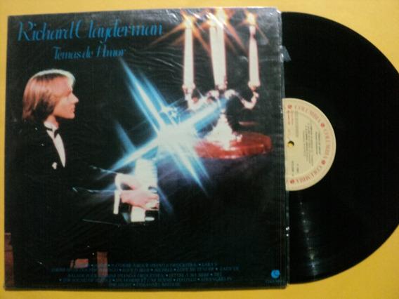 Lp Richard Clayderman- Temas De Amor 1982 Zerado Frete 15,00