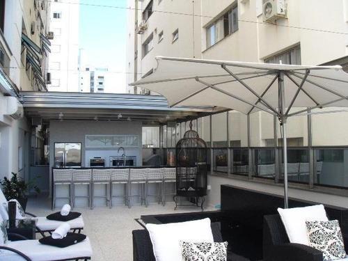 Imagem 1 de 25 de Lindo Apartamento Decorado Na Beira Mar Norte - Ap5219