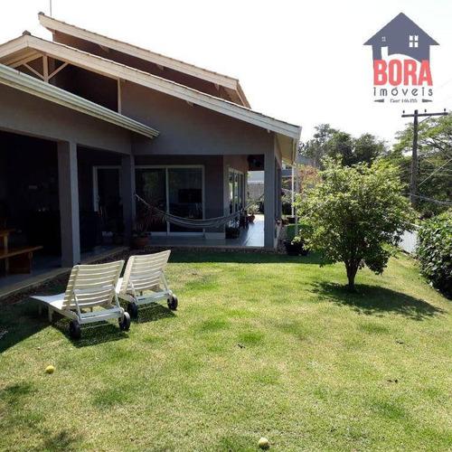 Imagem 1 de 30 de Casa Com 3 Dormitórios À Venda, 212 M² Por R$ 1.700.000,00 - Condominio Parque Das Garças I - Atibaia/sp - Ca0630