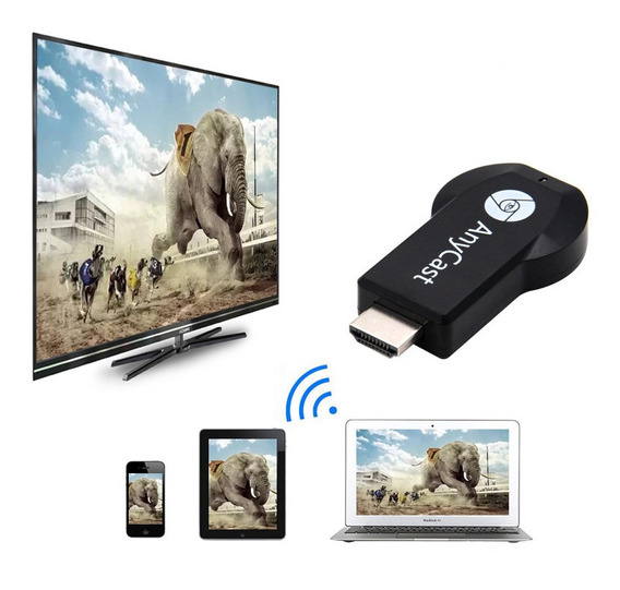 Qualquer Cast Hdmi 1080p Media Streaming Para Tv Dongle Wifi