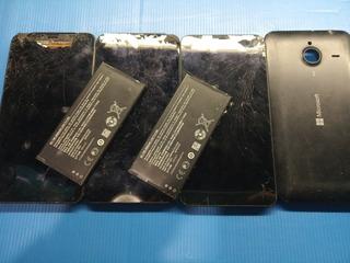 Lote 3 Celulares Microsoft Lumia 1064 Repuesto
