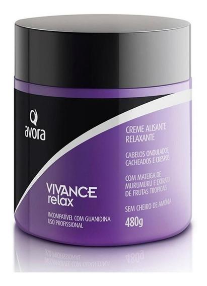 Avora Vivance Relax Tioglicolato Creme Alisante/relaxante 48