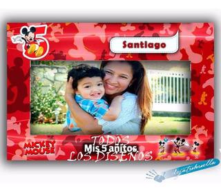 Marcos Selfies Disney Infantiles.