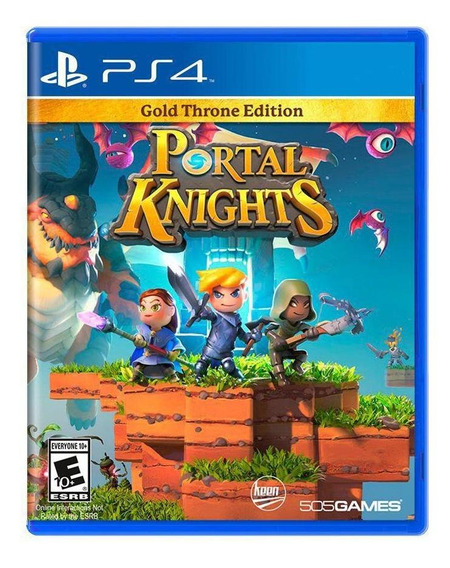 Jogo Portal Knights (gold Throne Edition) - Ps4