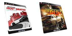 Need For Speed Most Wanted / The Run Jogo Ps3 Psn Digital