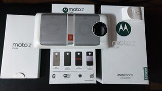 Moto Z Play + Módulo Parlante Jbl + Funda Protectora