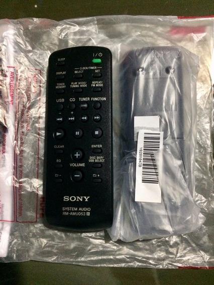 Controle Remoto Mini System Sony Original Linha Gtr / Gtx
