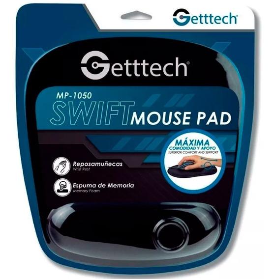 Mousepad Getttech Gts-28001n Reposa Muñecas Ergonomica