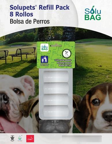 Imagen 1 de 4 de Bolsa Perro Sanitaria Solubag Refill 10 Pack 8 Rollos