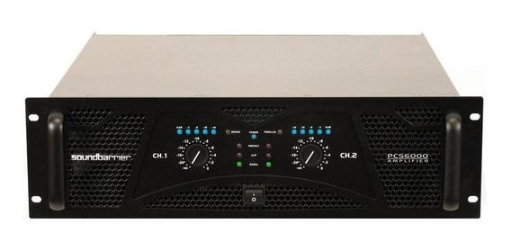 Amplificador Sound Barrier Pcs 6000 Nuevo