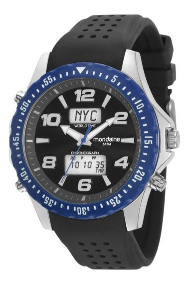 Relógio Masculino Mondaine 53619g0mvni1 Promoção Dia Dos Pai