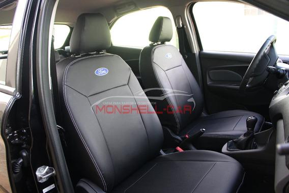 Capas De Bancos Carro Couro P/ Novo Ford Ka Hatch 2019