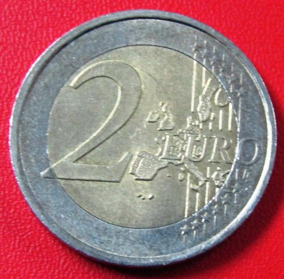 Portugal Moneda Bimetalica 2 Euros 2002 Au Km #747