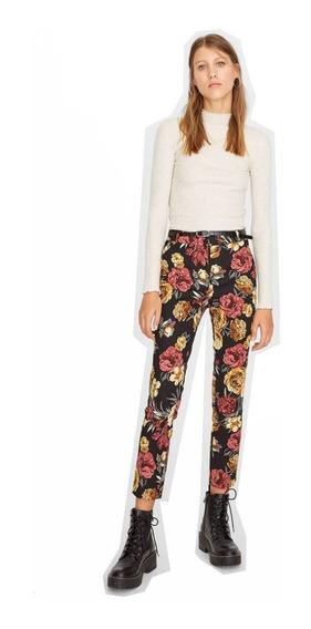 Pantalon Floreado, Nuevo Importado! Stradivarius Zara H&m
